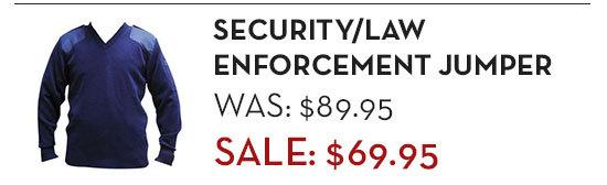Security / Law Enforcement Jumper