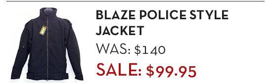 Blaze Police Style Jacket