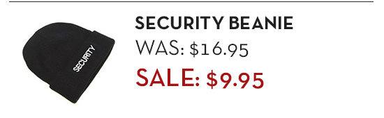 Security Beanie