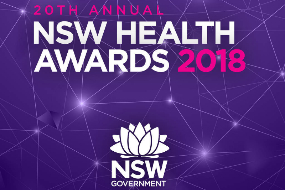 2018 NSW Health Awards artwork