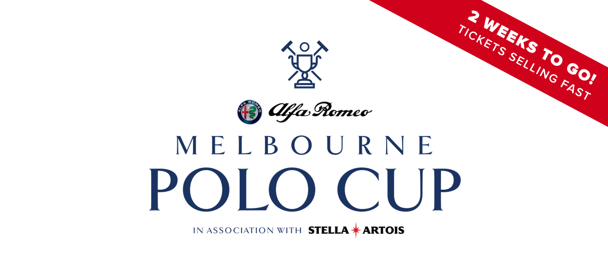 Alfa Romeo Melbourne Polo Cup, Sun 11 Nov – 2 weeks to go!