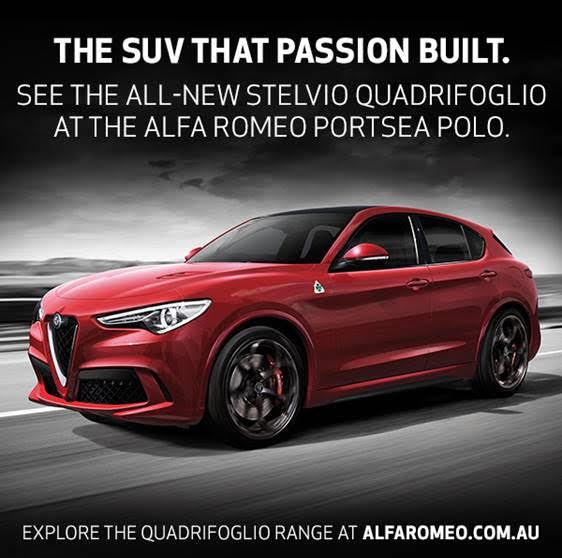 Introducing the Stelvio Quadrifoglio SUV.