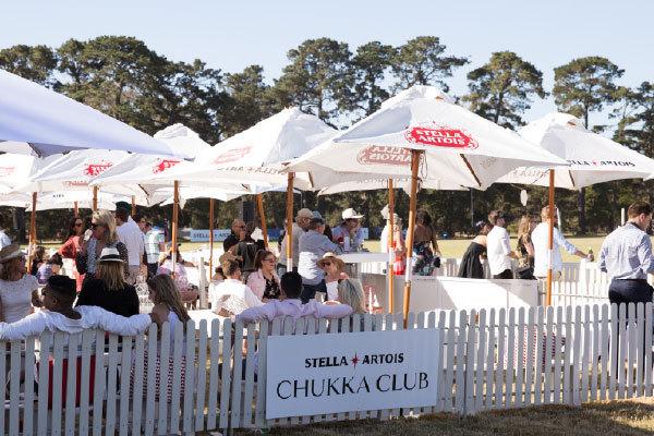 Stella Artois Chukka Club Marquee