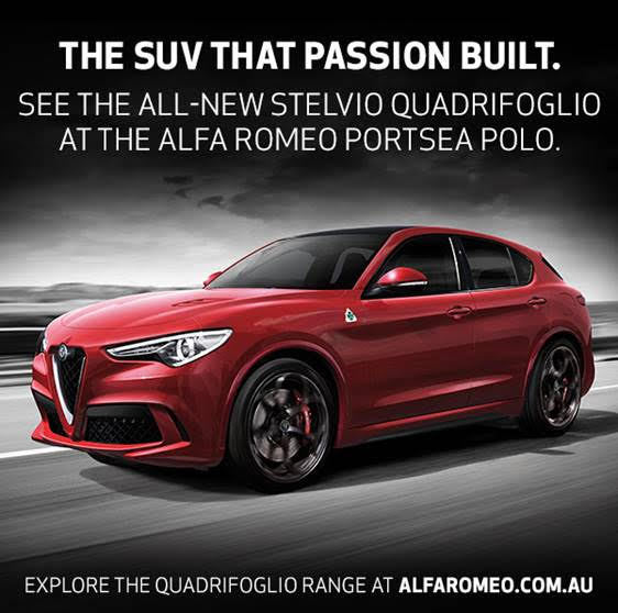 The SUV that passion built.