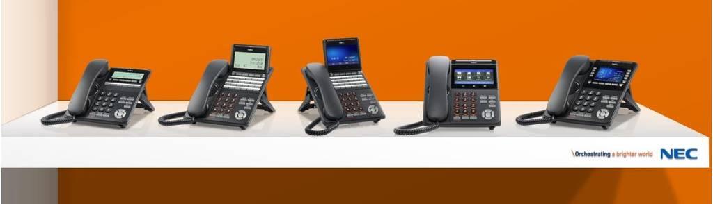 NEC DT500 & DT900 IP Handsets