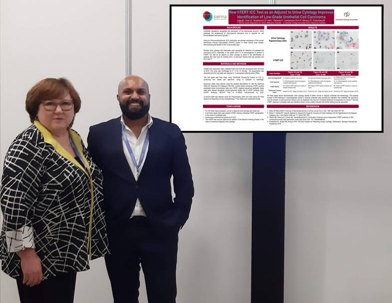 Sienna at the 20th International Cytology Congress