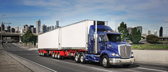 Prime Mover in a B-Double combination