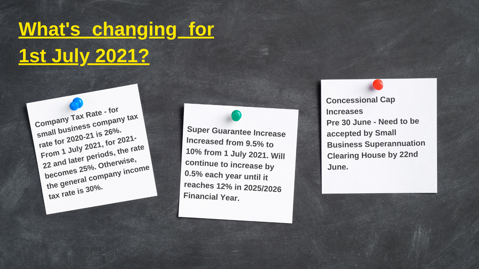 What's Changing for 1st July 2021 - Advivo June 2021 Newsletter Image