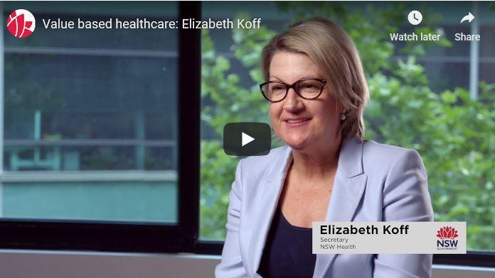 Video: Value based healthcare - Elizabeth Koff