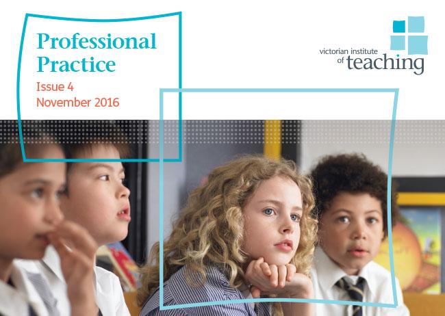 Professional Practice Issue 4 2016
