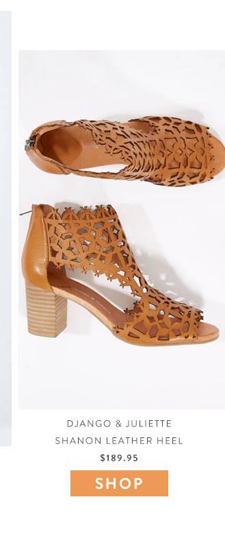 django and Juliette heels