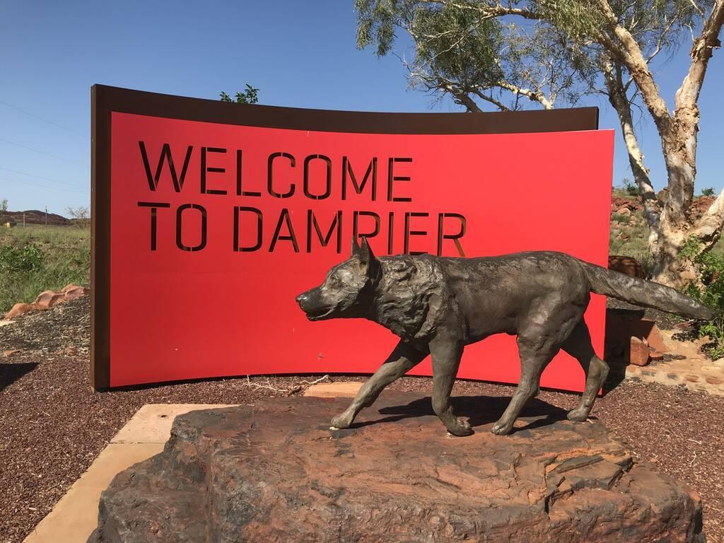 Red Dog Memorial in Dampier