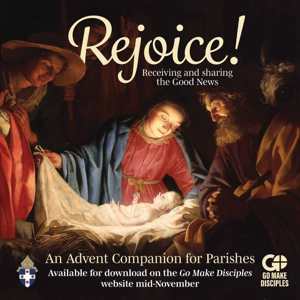 Rejoice! Receiving and sharing the Good News An Advent Companion for Parishes