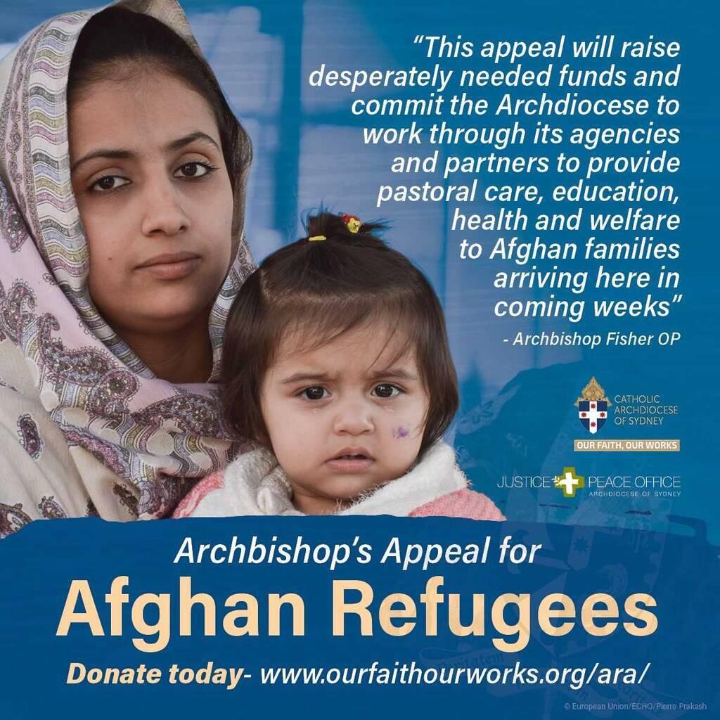 Archbishop's Appeal for Afghan Refugees
